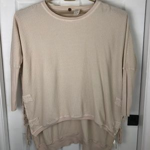 Free People One Interlaken Tunic Size Medium